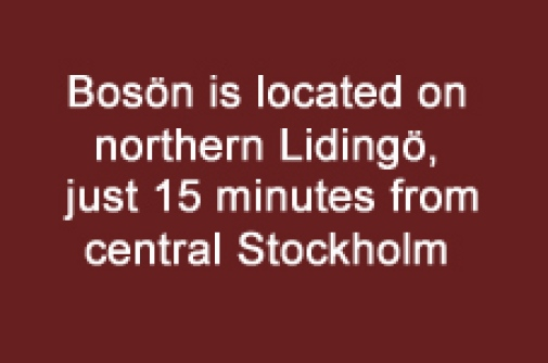 Location Bosön